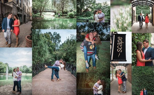 Central West End Engagement Photography