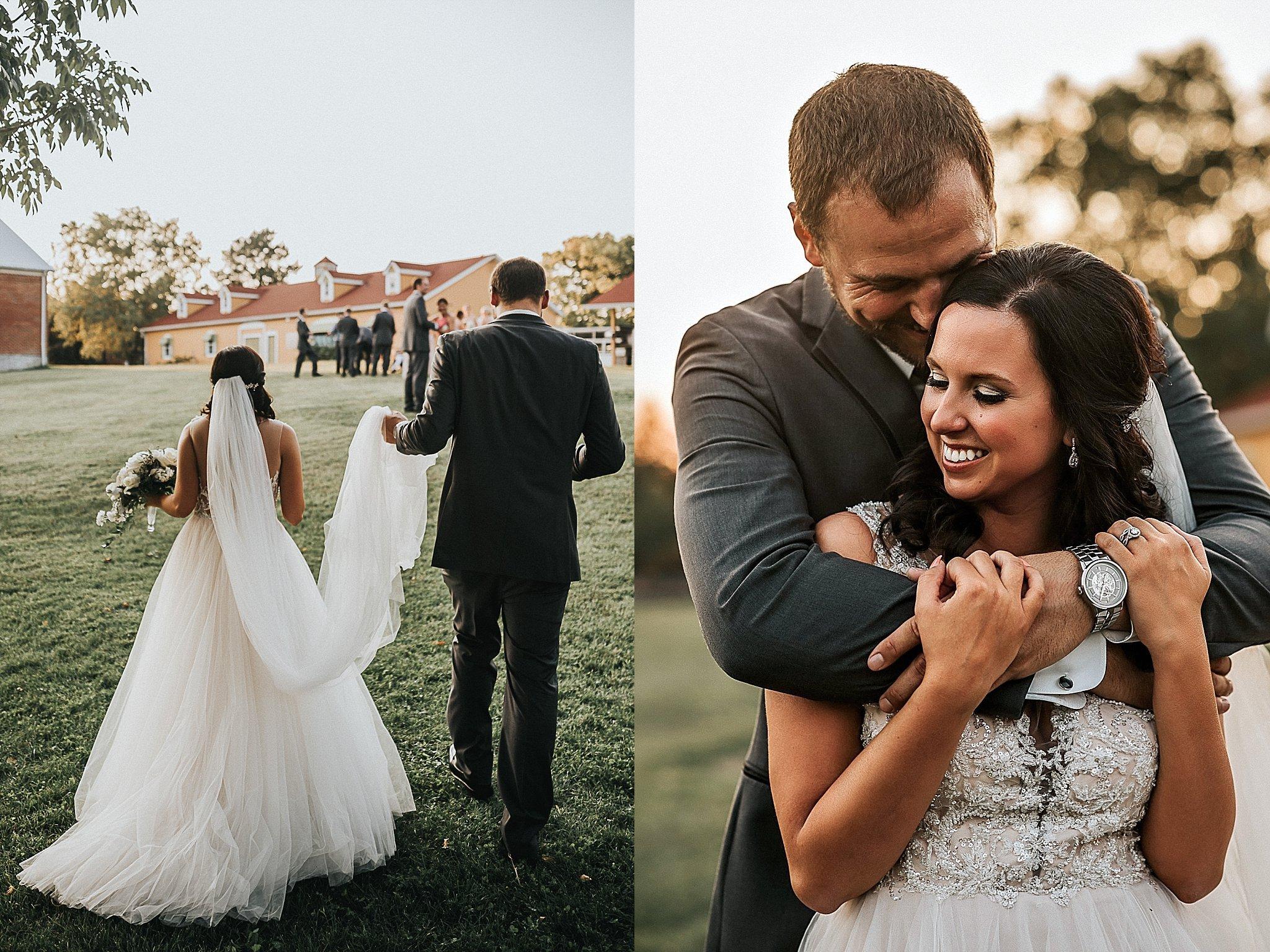 Wedding photos in Missouri