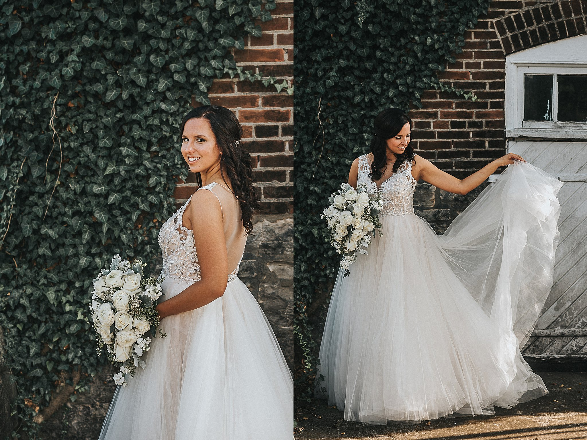 Bride photos in St. Louis