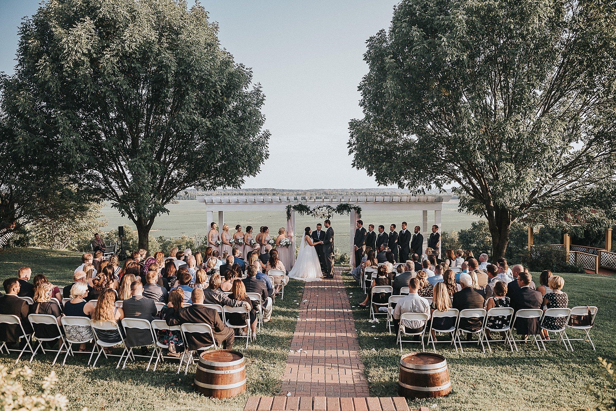 Wedding Ceremony in Missouri