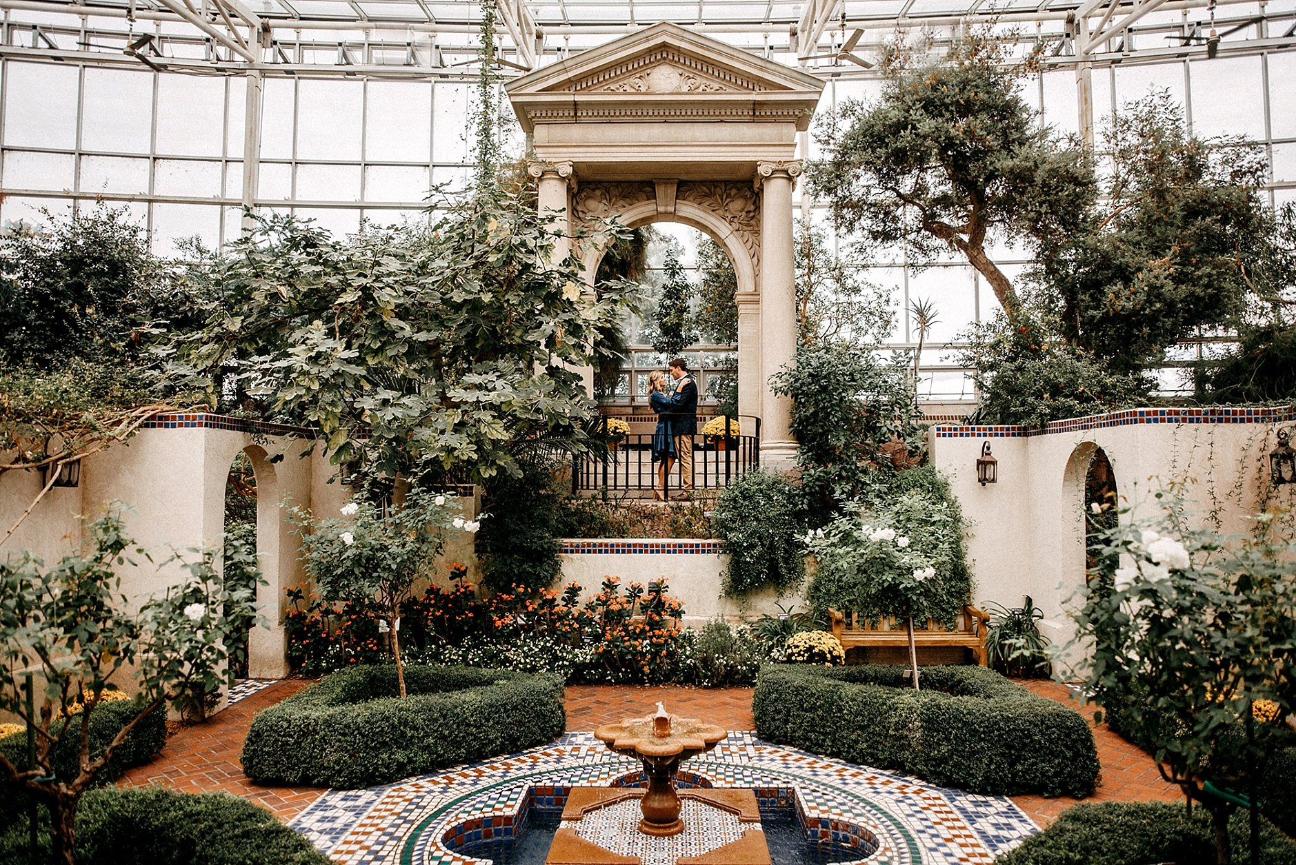 Engagement Sessions at Missouri Botanical Gardens