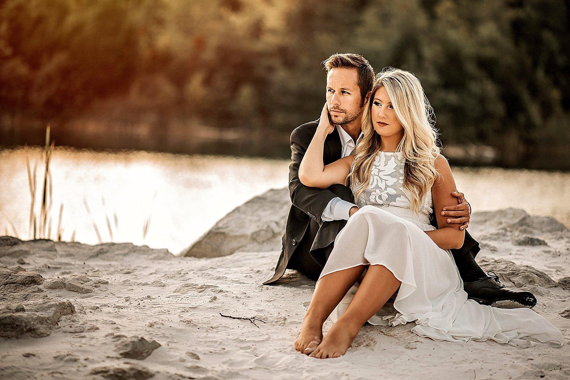 Romantic Engagement session at Klondike Park