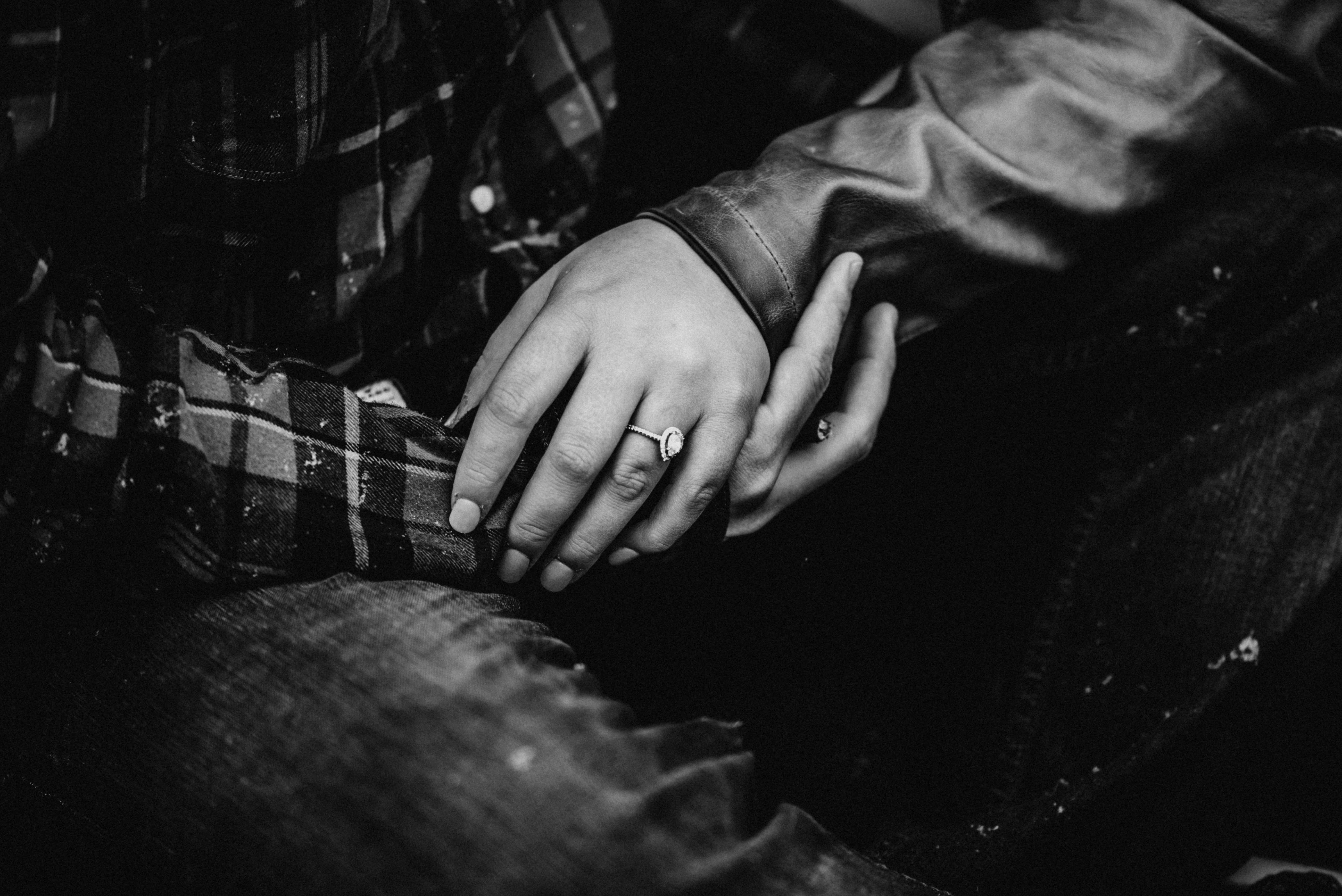 black and white ring picture