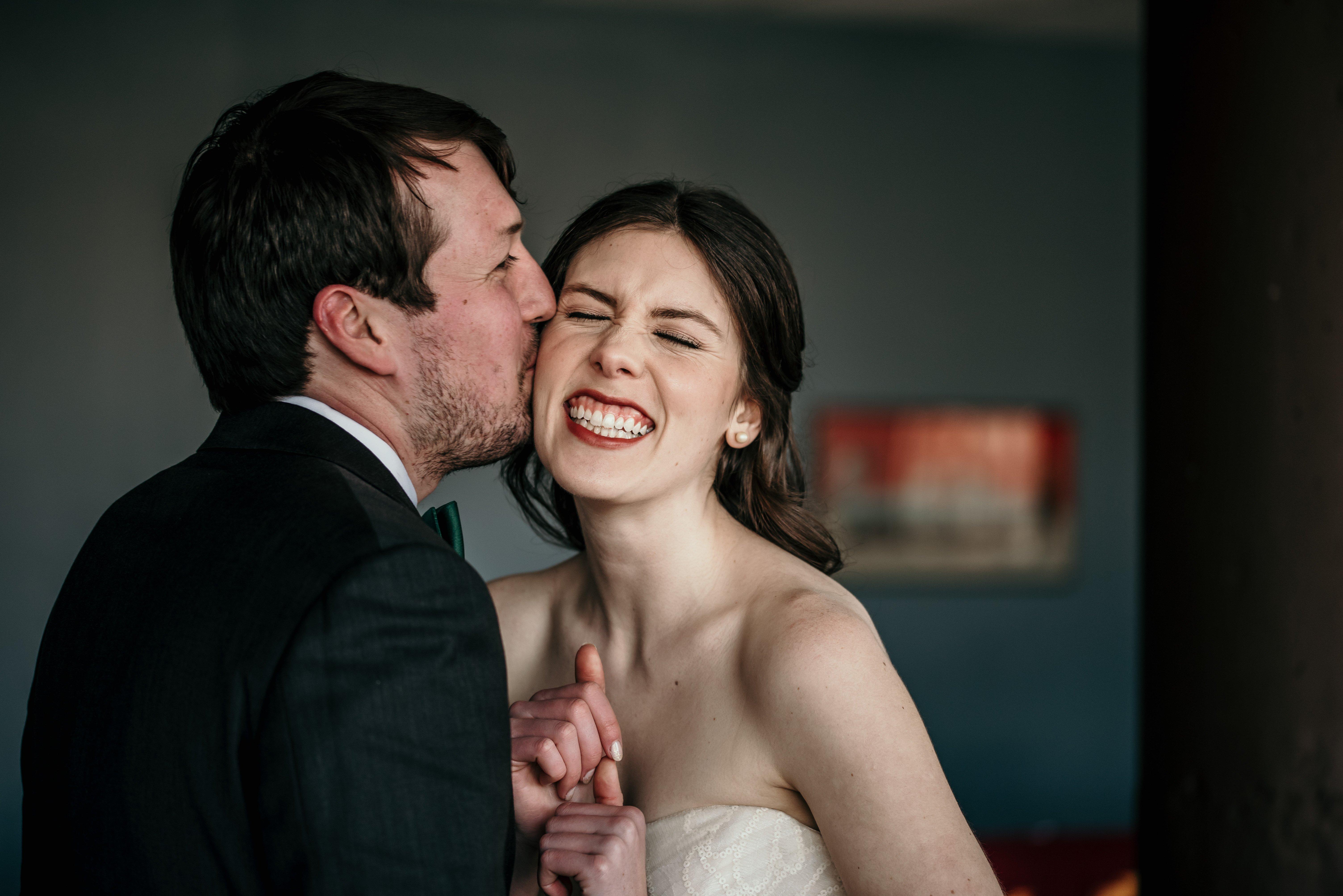 Captured wedding moments