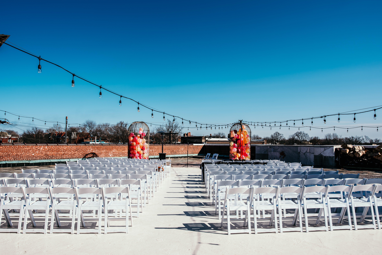 Roof ceremony at Jefferson Underground