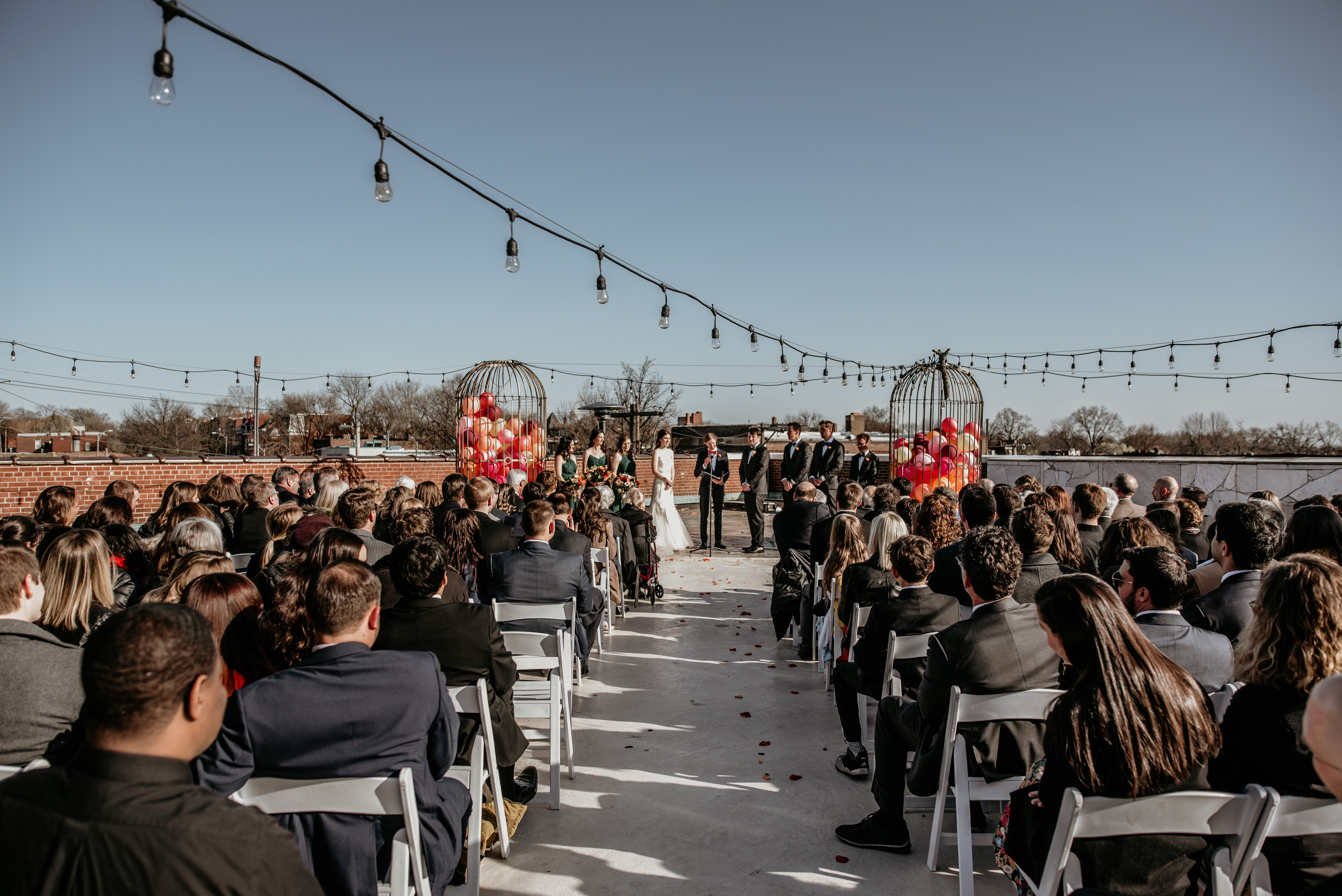 Outdoor Ceremony at Jefferson Underground
