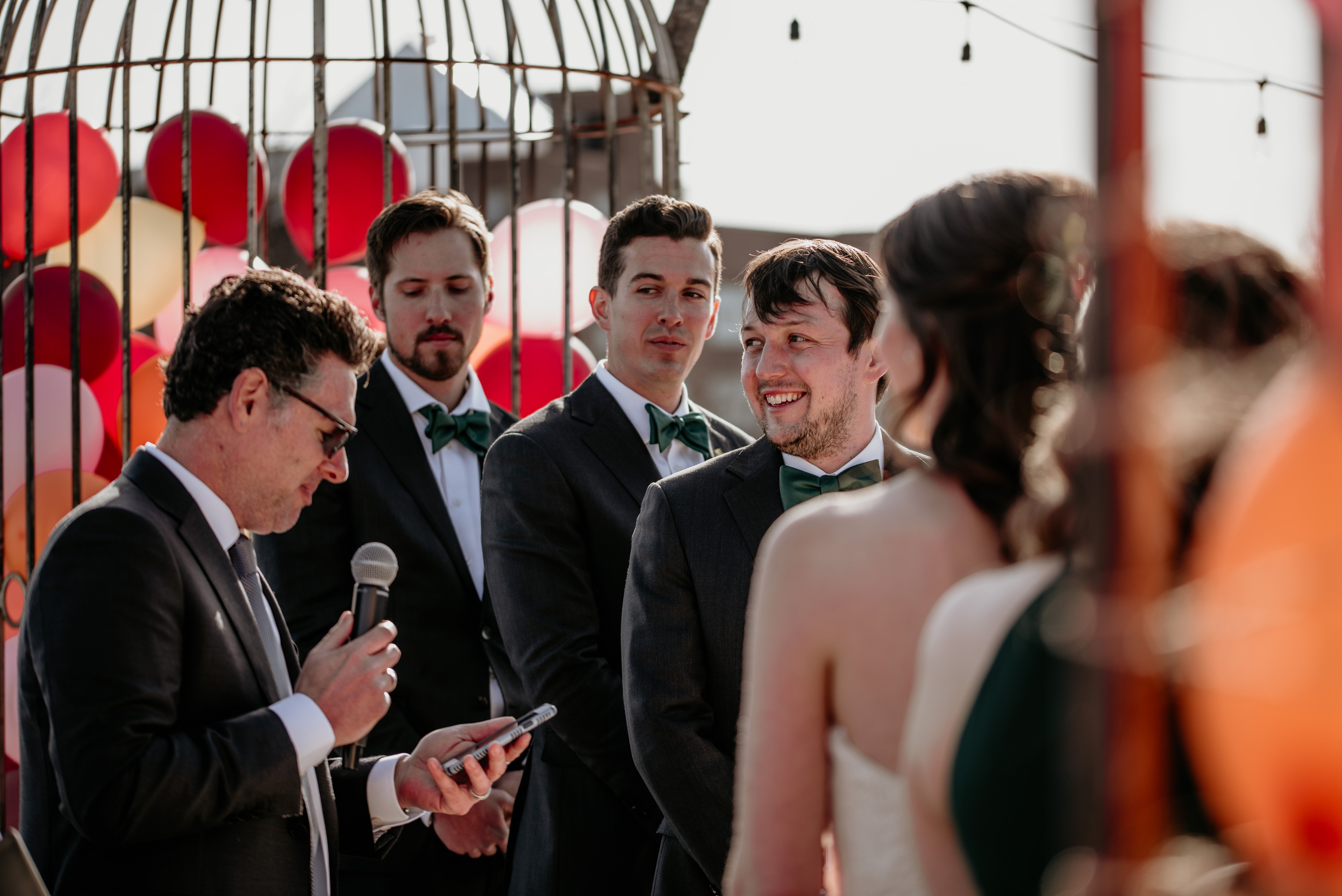 Real ceremony moments