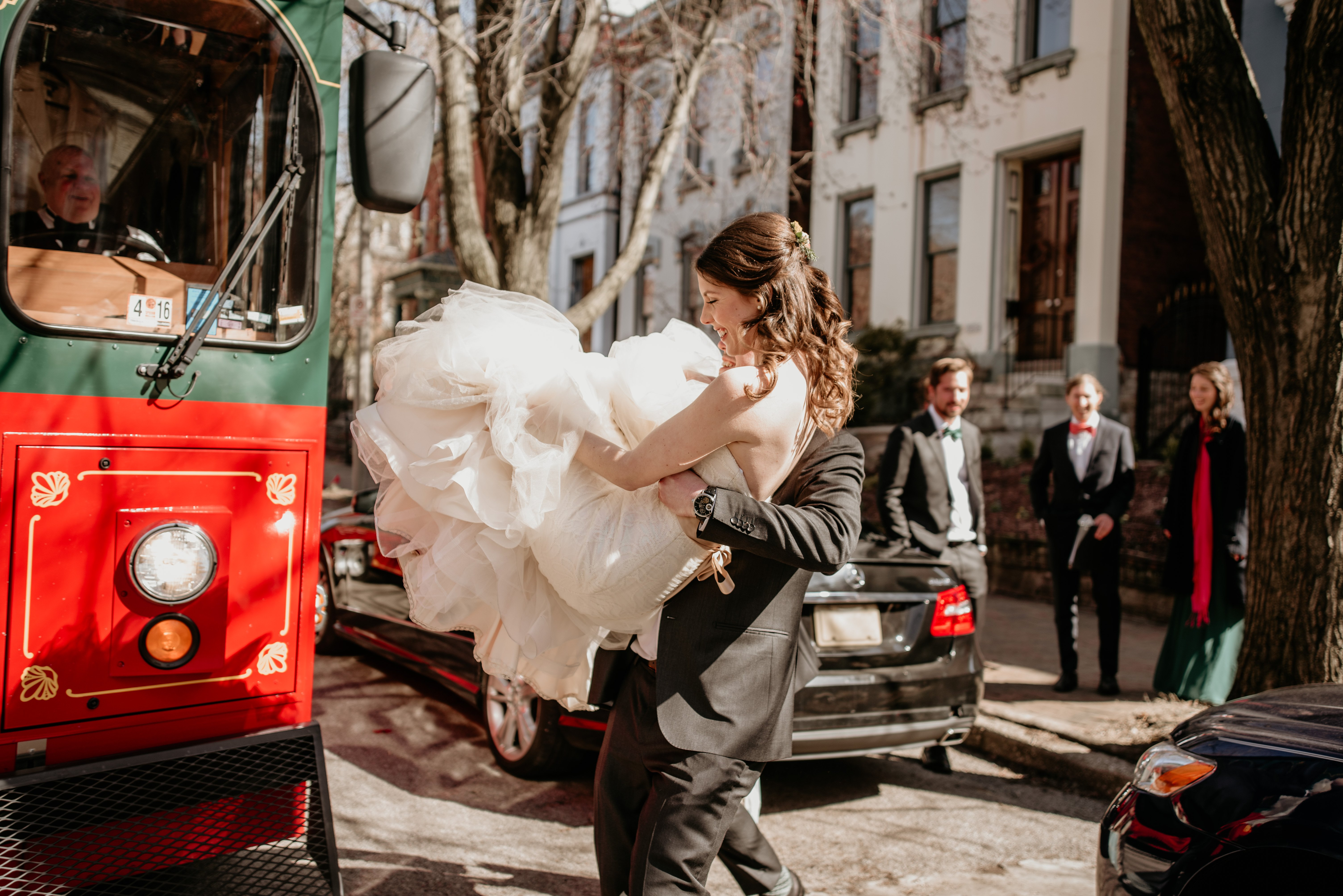 Getting to the Wedding Venue